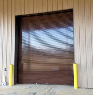 Brown Rolling Steel Door