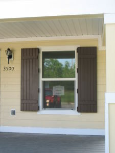 Board and Batten Shutters