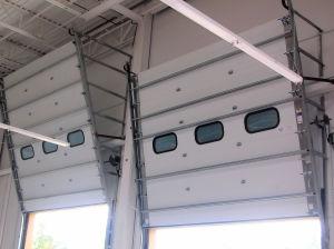 Vertical Lift Commercial Sectional Door