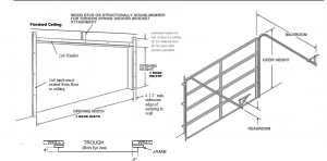 Garage Door Jamb Preparation