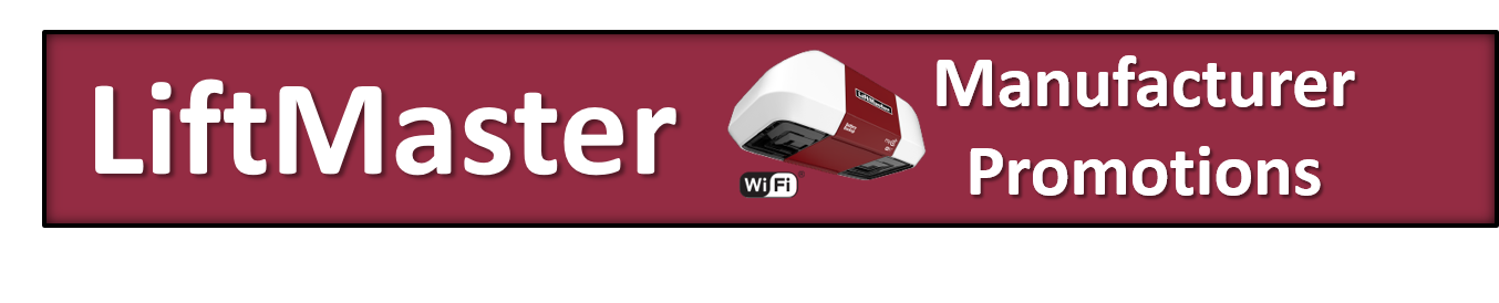 Click to See Promotions from Liftmaster