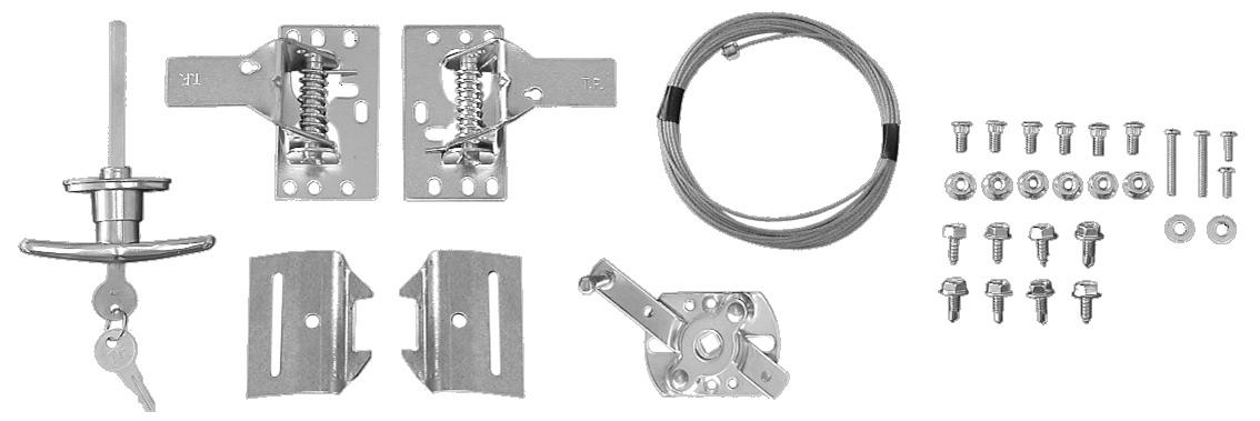 Keyed Lock Set Image