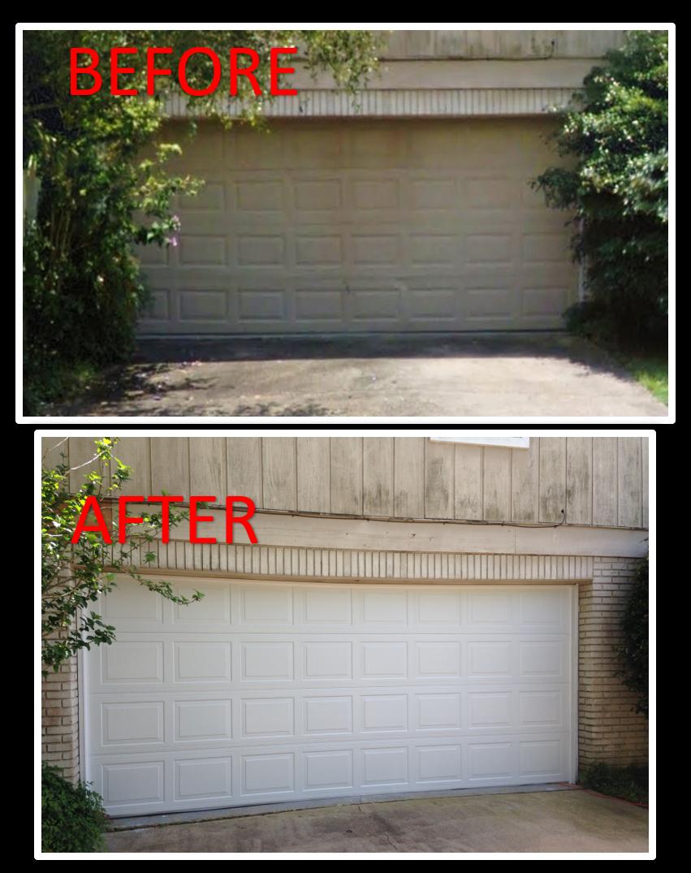 Before And After Overhead Garage Doors By Doorways Inc