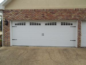 Carriagehouse Stamp Garage Door