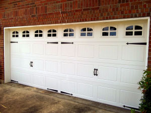 Carriagehouse Stamp Garage Door