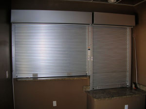 Stainless Steel Counter Shutters