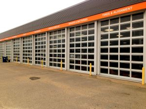 Full View Aluminum Commercial Doors
