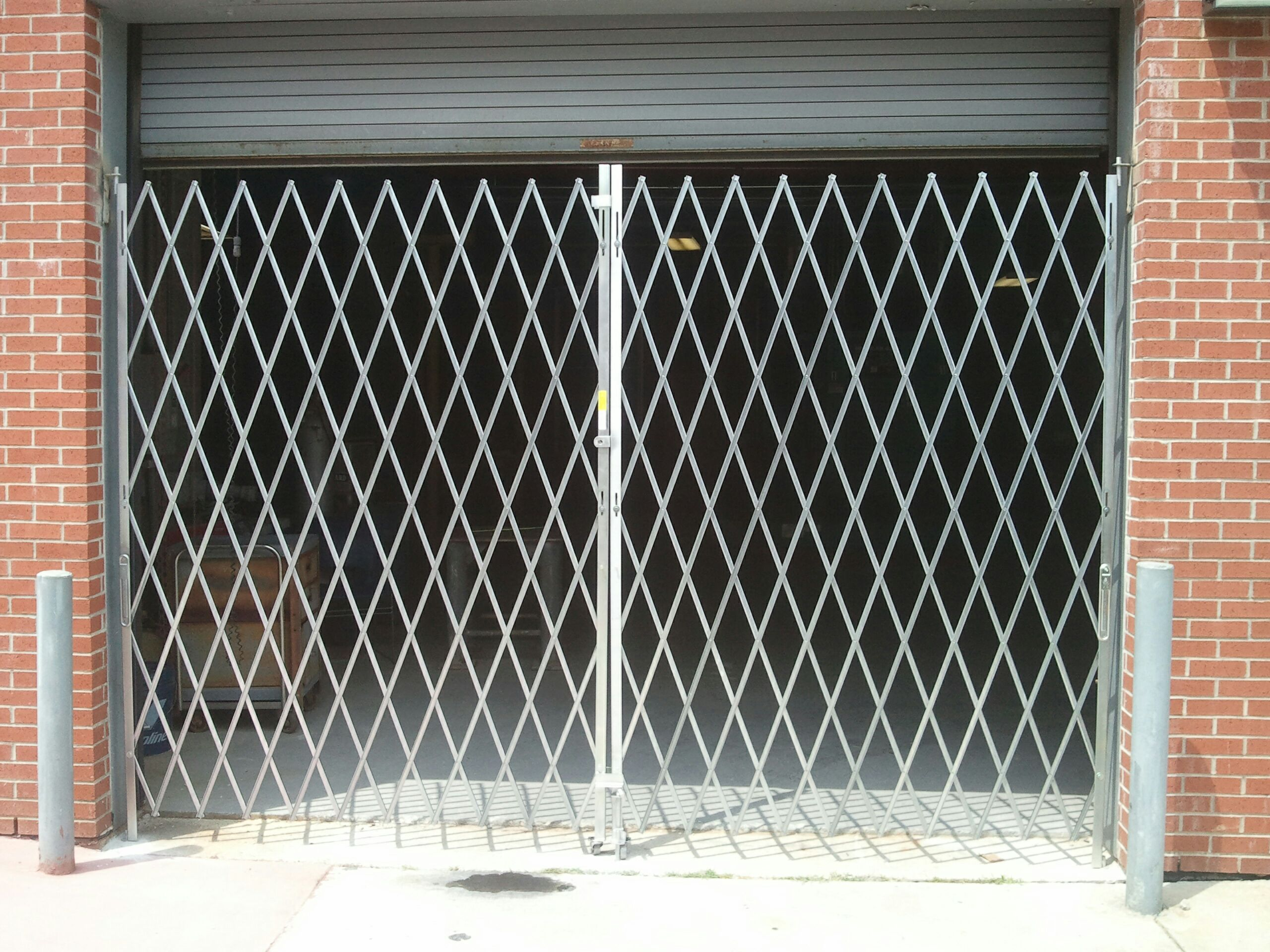 Scissor Security Gate