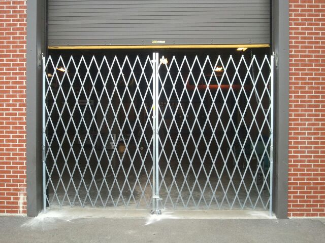 Scissor Security Gates Overhead Garage Doors By Doorways