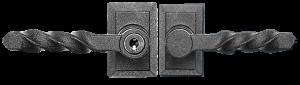 Twisted L Keyed Lock